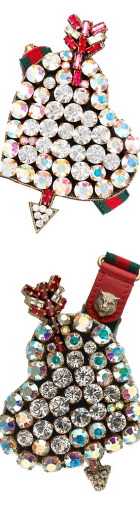 GUCCI Crystal-embellished bracelet