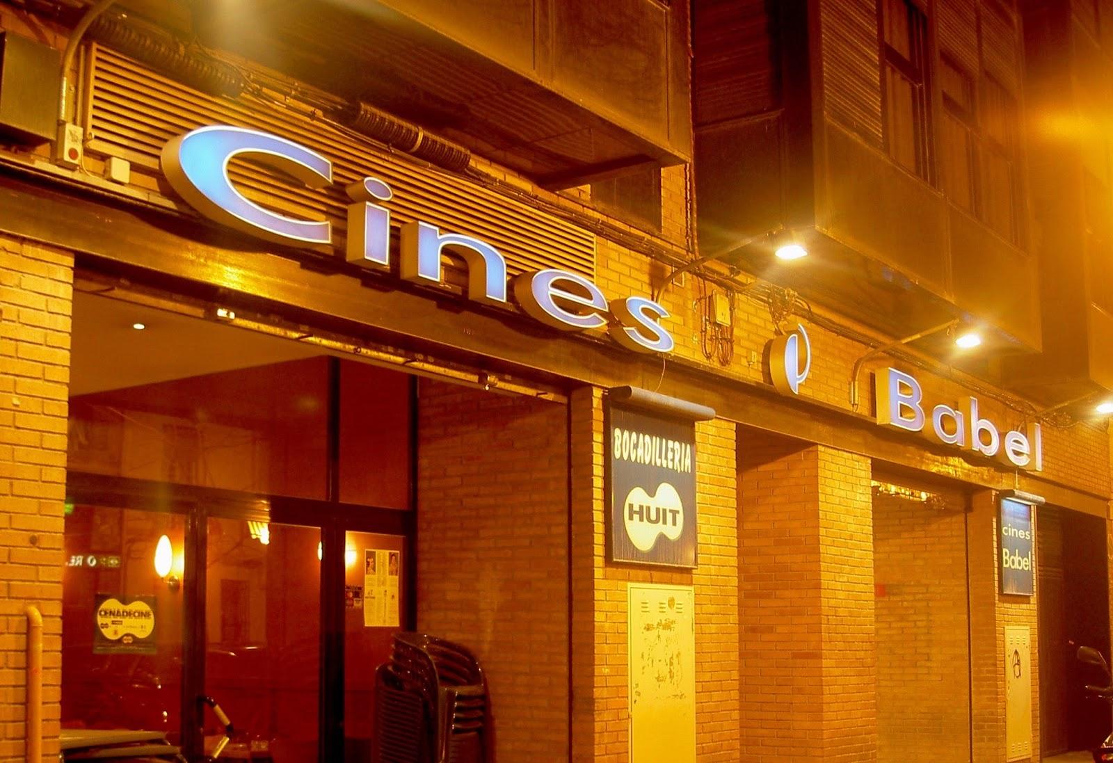 Los cines Babel, los de toda la vida