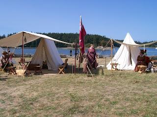 HBC reenactors, 2016 San Juan Island Encampment