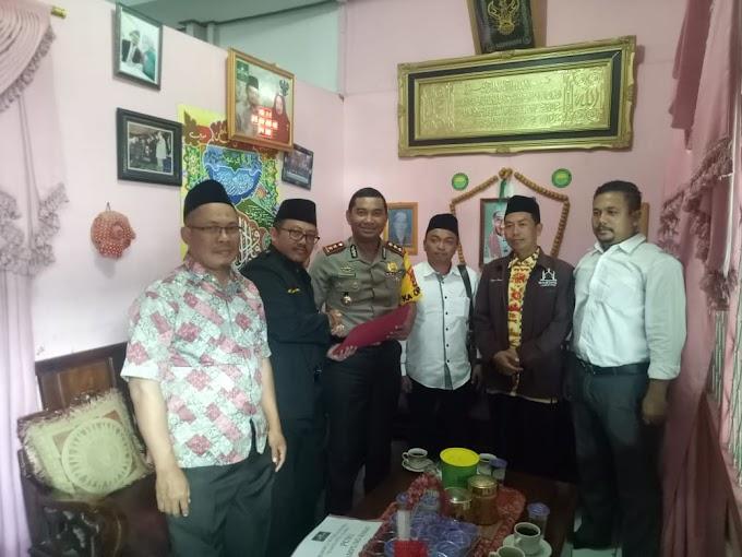 Kapolres Lampung Barat AKBP Doni Wahyudi.S.Ik Bersilaturahmi Dengan Ketua Nadhlatul Ulama (NU) Lampung Barat