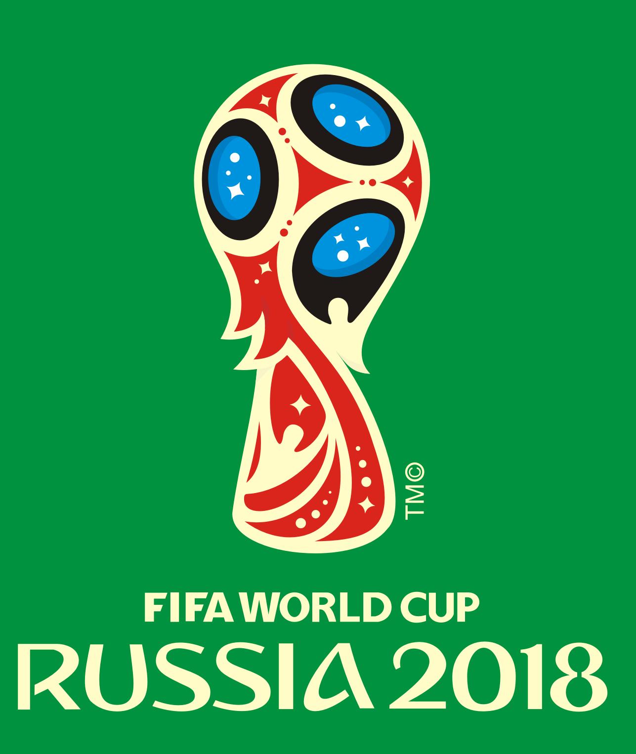 Logo Resmi Fifa World Cup Russia 2018 Free Vector CDR