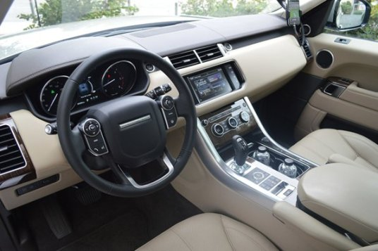 Range Rover Sport: Power Steering