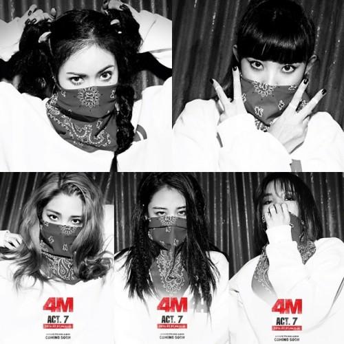[Album] 4Minute – ACT.7 (2016.01.27/MP3/RAR)