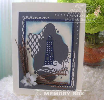lighthouse card for a man front