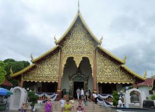 Chiang Mai. Wat Chiang Man.