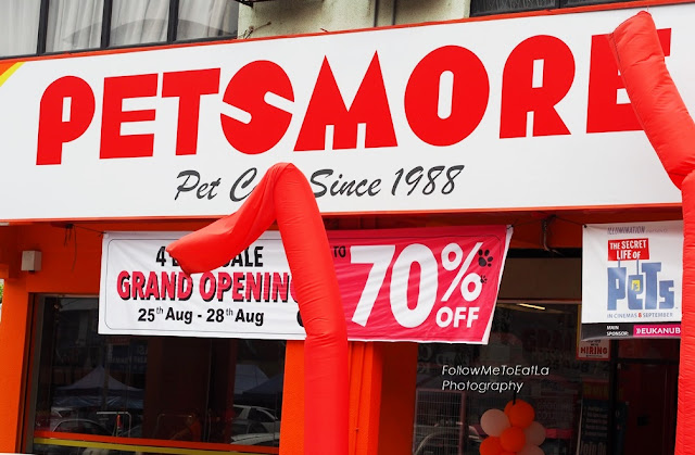 "PETSMORE  4 Days Crazy Sales RoadShow  In Conjunction With ""The Secret Life Of Pets"""