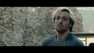 My running hero Quicksilver in the Avengers movie.
