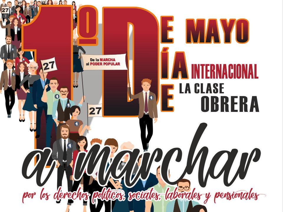 1º de Mayo UNEB presente en las calles de Colombia