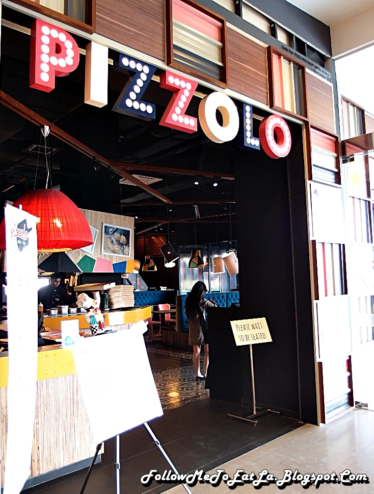Follow Me To Eat La - Malaysian Food Blog: PIZZOLO Restaurant Modern Italian Cuisine @Atria ...
