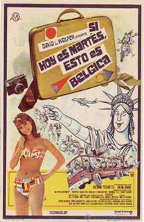 Película Si hoy es martes, esto es Bélgica, de Mel Stuart - Cine de Escritor