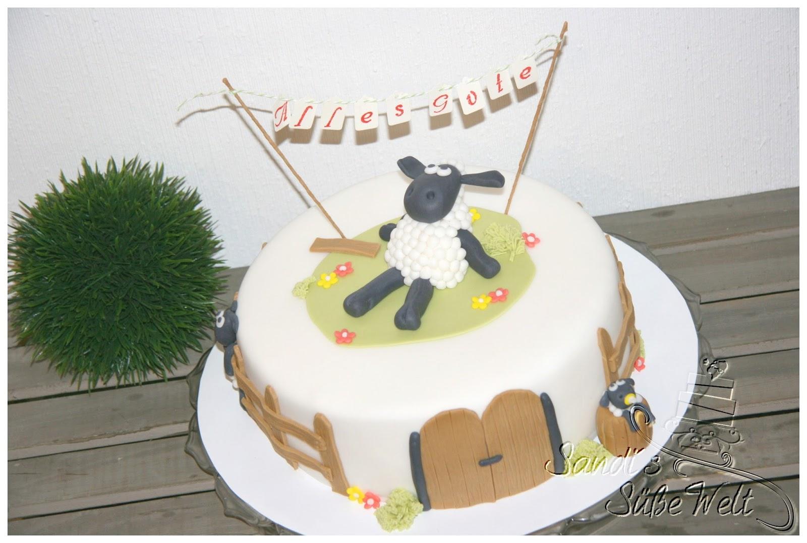 Sandi S Susse Welt Shaun Das Schaf Eine Torte Zum 2 Geburtstag