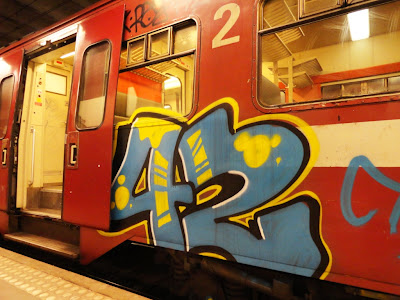 42 graffiti train