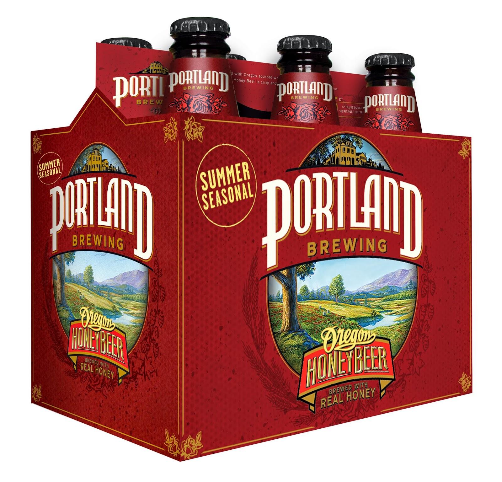 Portland Oregon Brewing Honey