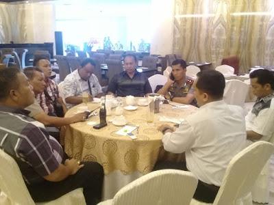 Kompol Victor Ziliwu Silaturahmi ke Hotel Four Points