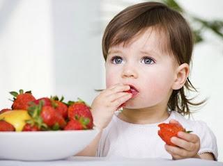 Chế độ ăn uống của bé có thực sự khỏe mạnh