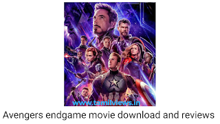 Avengers endgame was released - avengers movie reviews in tamil - avengers movie download in HD