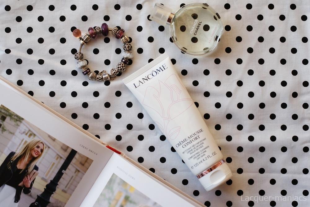 Mój HIT listopada, czyli Lancome Creme-Mousse Confort - pianka myjąca do skóry suchej i wrażliwej