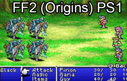 Final Fantasy Origins ISO