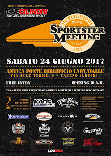 sportster meeting poster