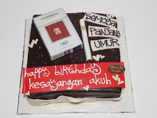 Tart ulang tahun di Malang, Kue ulang tahun di Malang, Cake ulang tahun Malang, birthday cake malang, Kue ulang tahun rokok,