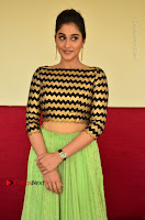 Actress Regina Candra Latest Pos in Green Long Skirt at Nakshatram Movie Teaser Launch  0091.JPG