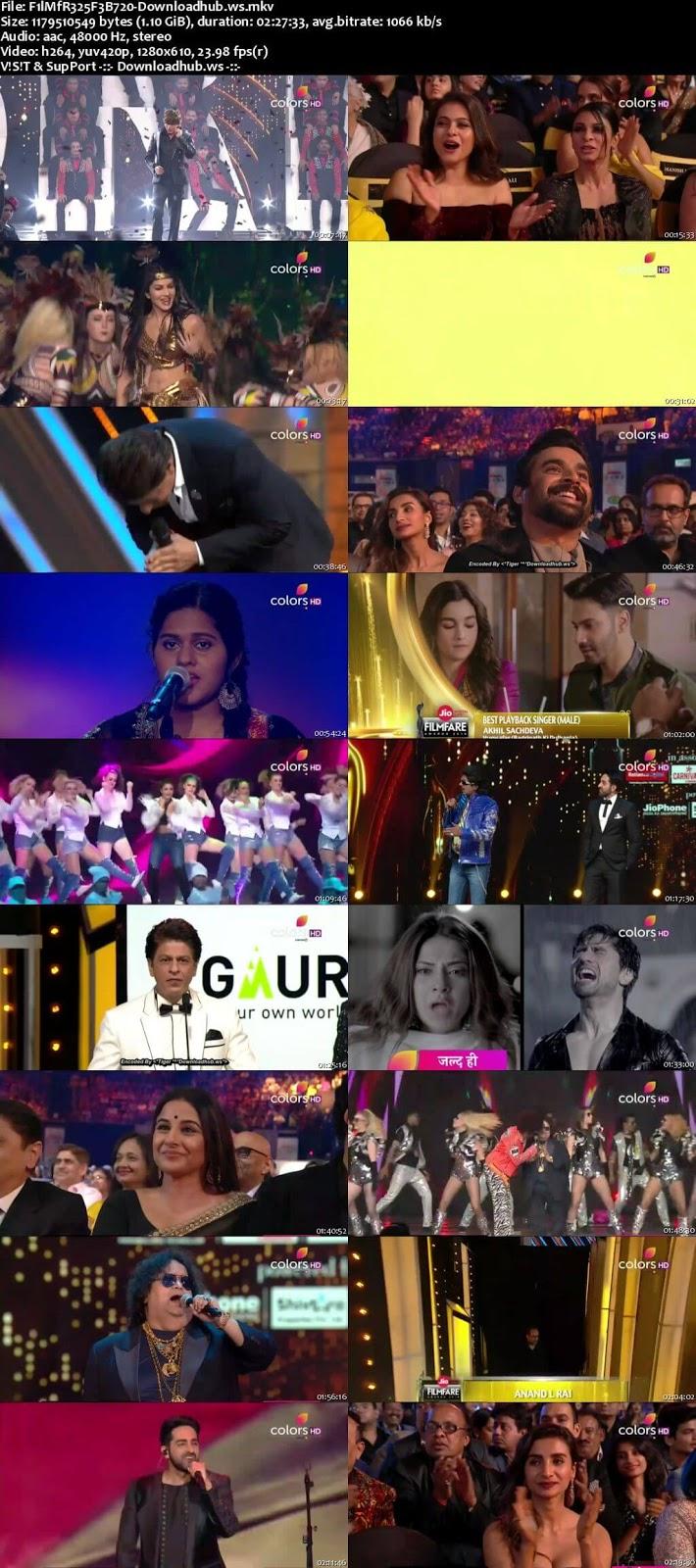 Filmfare Awards 25th February 2018 720p HDTV
