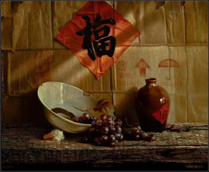 Современный классический реализм. Wang Kun 21
