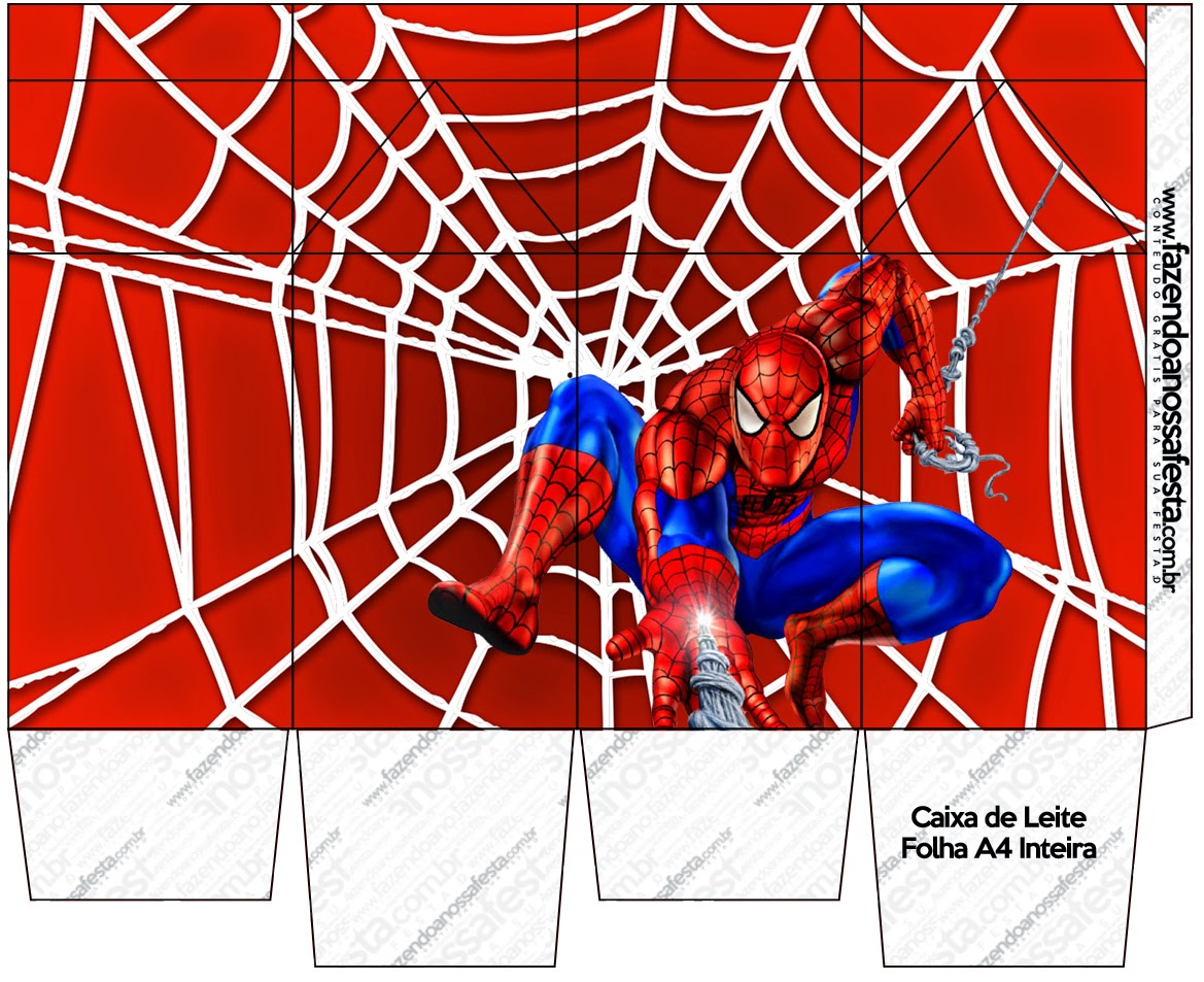 Spiderman: Free Printable Boxes. | Oh My Fiesta! in english