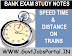 TIME DISTANCE AND TRAINS