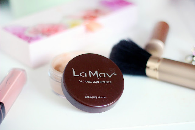 la mav organic cosmetic cruelty free natural ingredients make up review