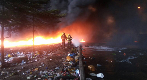 Photos: LAG Buses, Evacuation Trucks, Goods Worth Millions, All Destroyed By Olusosun Sudden Fire