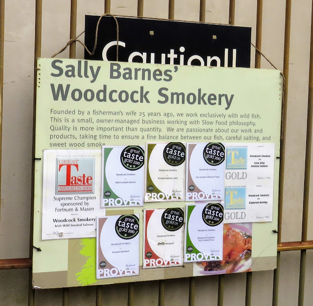 Sally Barnes' woodcock smokery: West Cork food producer