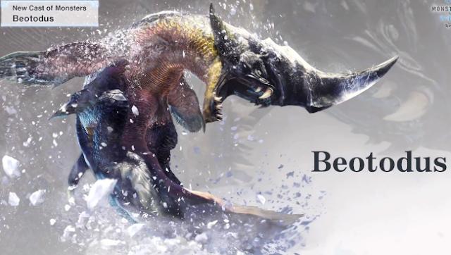 Ini Dia Monster-Monster Yang Muncul di DLC Monster Hunter World: Iceborne