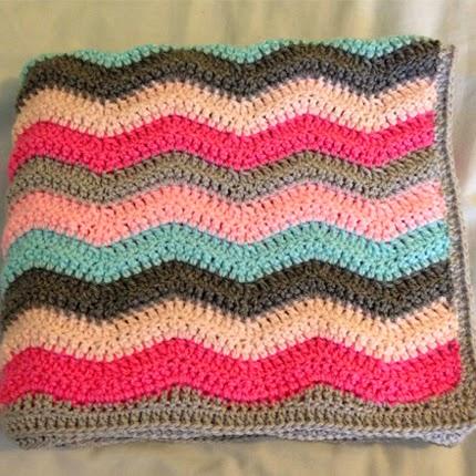 Olivia's Ripple Blanket - Free Pattern