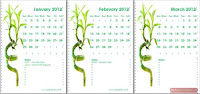 Download Calendars to use as wallpaper