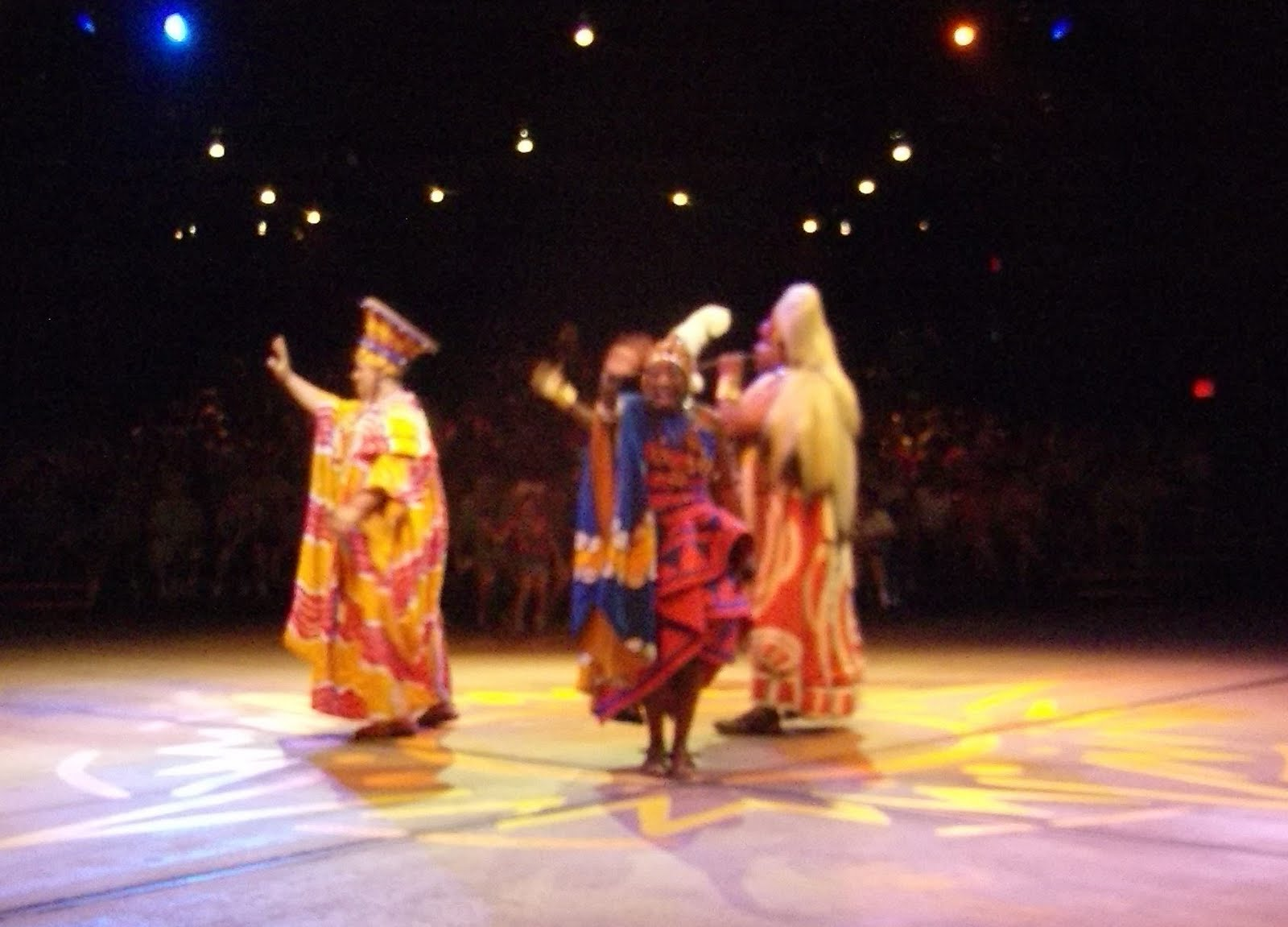 Williams Family Festival Of The Lion King At Disney S Animal Kingdom
