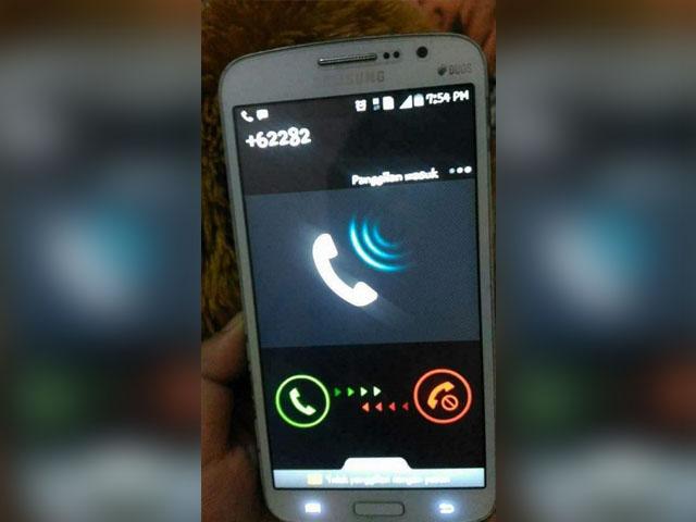 Telpon dari Nomor +62282