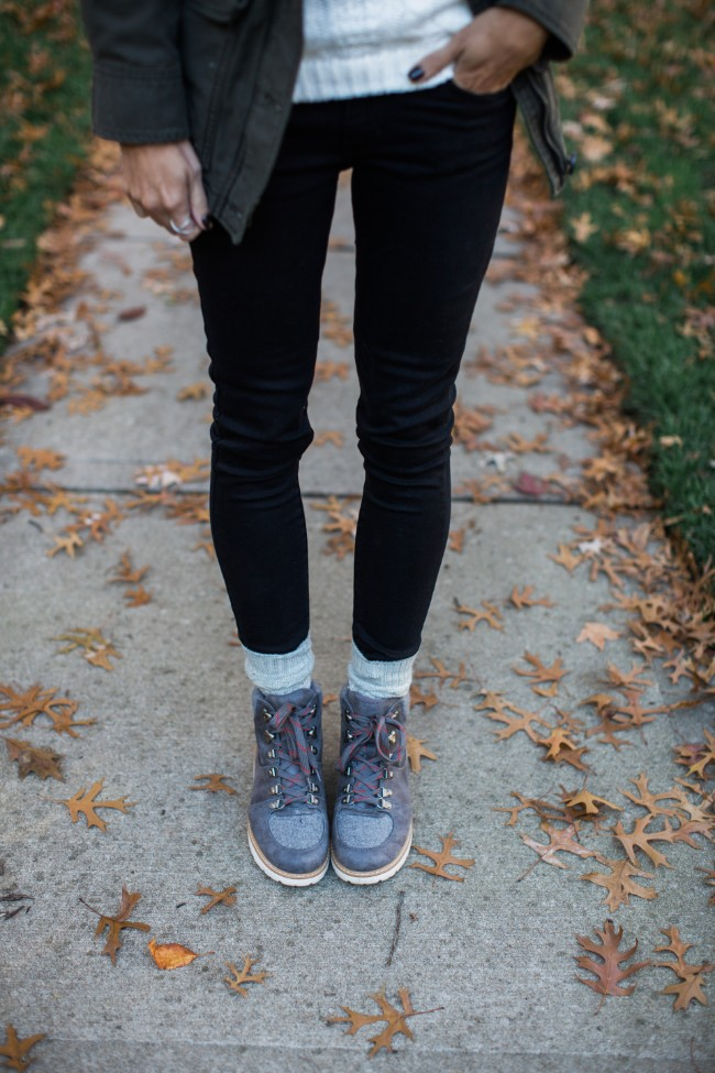 Affordable Winter Boots worn by One Little Momma