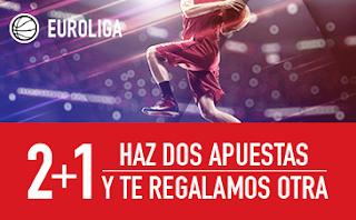 sportium promocion Euroliga 8-9 marzo