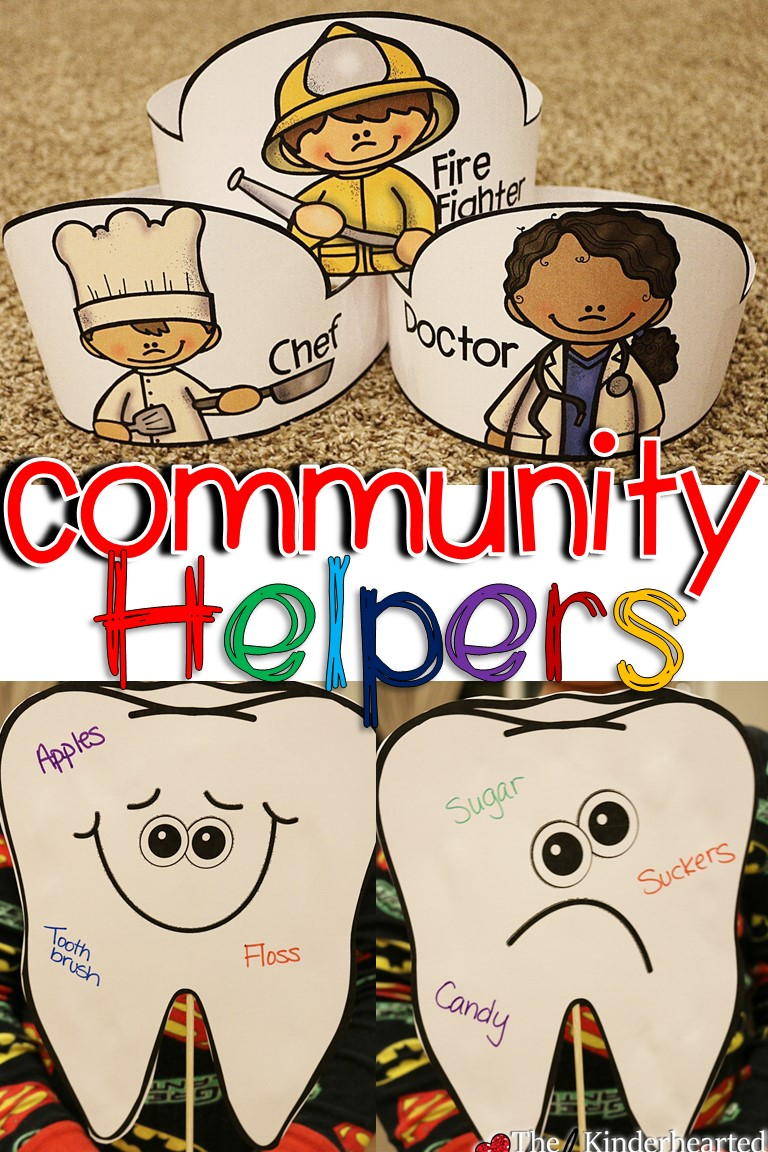 community helper unit for kindergarten math ela u0026 more the