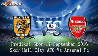 Agen Bola Terpercaya - Prediksi Skor Hull City AFC Vs Arsenal Fc 17 September 2016