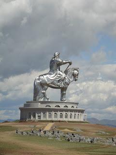 Chingis Khan, Mongolia, ratsastajapatsas