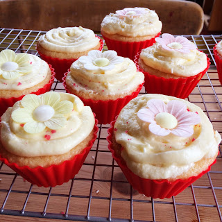 Cupcakes Decorated Flower