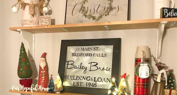 Bailey Bros. 1946 glass window sign