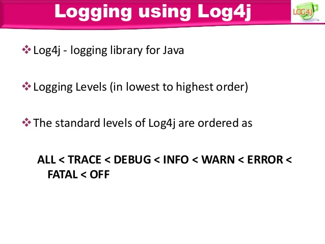 Caused By: java lang NoClassDefFoundError: org/apache/log4j/Logger