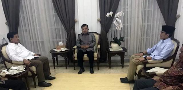 Dukungan Kiai Syukron Ke Prabowo-Sandi, Bukti NU Tak Solid