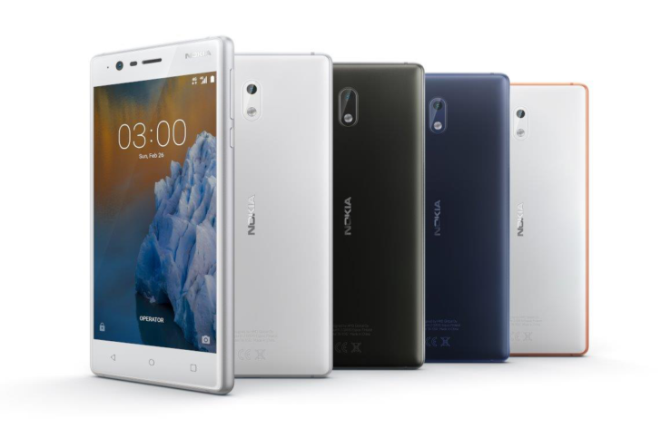 Kernel source code is now available for Nokia 3 phone