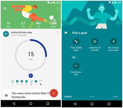 aplikasi olahraga google fit