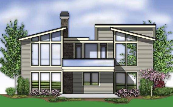 Sebasti n katz fachadas - Dibujos de casas modernas ...