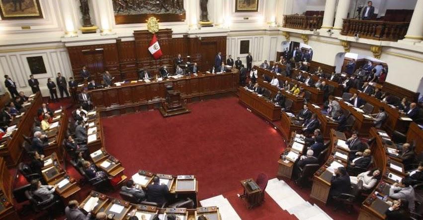 Congreso publica resolución que modifica reglamento parlamentario sobre censura y cuestión de confianza (R. LEG. N° 007-2017-2018-CR)